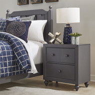 Cottage View Nightstand Gray