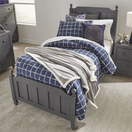 Cottage View Panel Bed Twin Size Gray