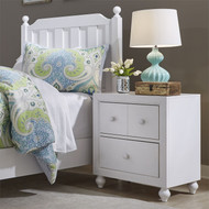 Cottage View Nightstand White