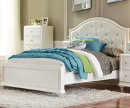 CLEARANCE Stardust Panel Bed Twin Size - ORLANDO LOCATION