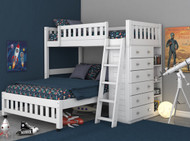 Cambridge Twin over Full Loft Bed