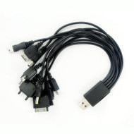 10 In 1 USB Multi Plug Charger Cable For Mobile Phones