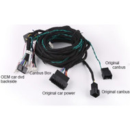 Direct Fit KGLBENZ-6M Mercedes 6m Extension Fibre Optic Bypass