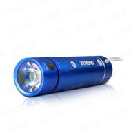 Xtrons Blue Bike Torch With Wireless FM Radio & Bluetooth