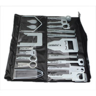 Professional 38 Piece Radio Stainless Steel Release Key Set