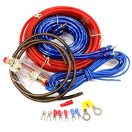 10 Gauge Amp AGU Wiring Kit 400w With RCA, Fuse & Cable Kit