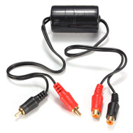 Ground Loop Isolator With Golf Plated RCA Connections