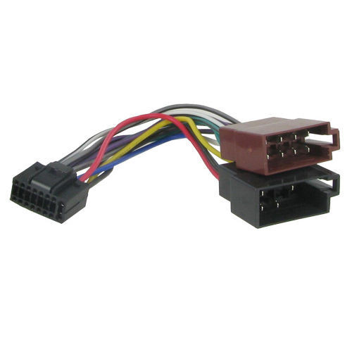 on kenwood 16 pin wire harness