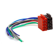 Universal Male ISO Radio Plug Adapter Wiring Harness Loom