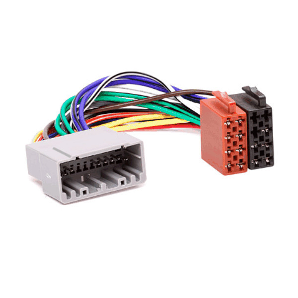 ISO Radio Wiring Harness Adaptor For Chrysler & Jeep - Audio ... on