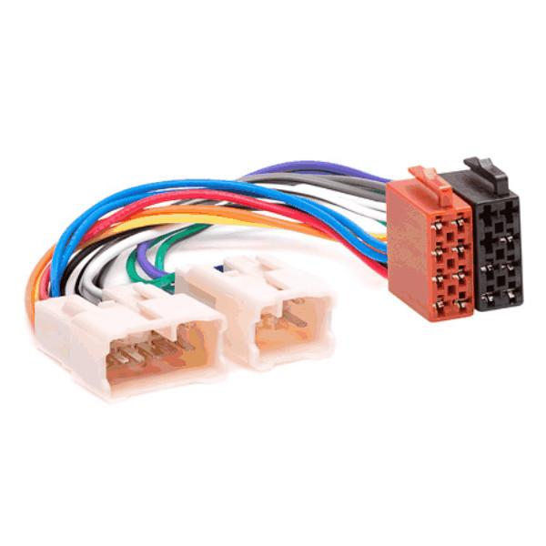 iso radio wiring harness adaptor for toyota, lexus \u0026 diahatsu Sony Car Stereo Wiring Adapter categories