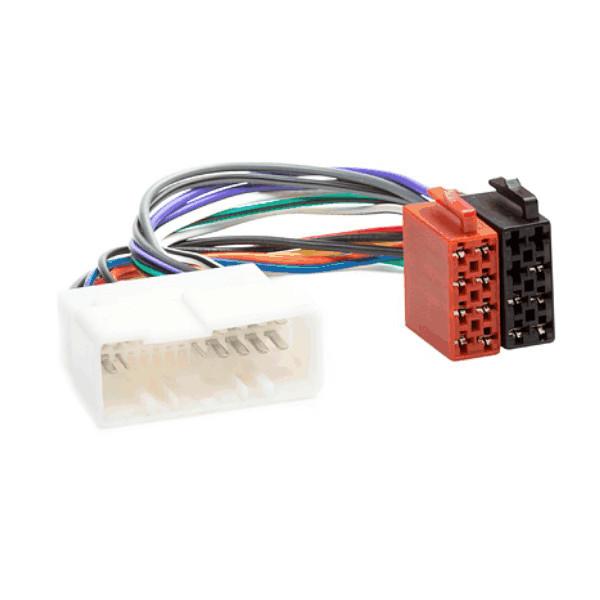 iso radio wiring harness adaptor for hyundai \u0026 kia (2004 on) audio Wiring Harness Connectors
