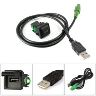 Standard Fit USB Port Socket With Aftermarket USB For VW