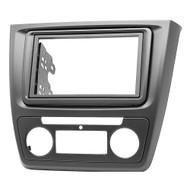 Carav 11-495 RNS-Shape & Double DIN Fascia For Skoda Yeti