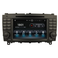 PbA ME5812B Android 8.1 After-Market Radio For Mercedes 254mm