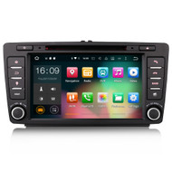 PbA SK8126S Android 10.0 After-Market Radio For Skoda Octavia