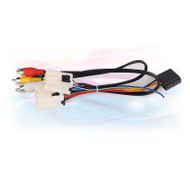 Direct Fit Nissan-Cable2 Power Cable & RCA Adaptor For Nissan
