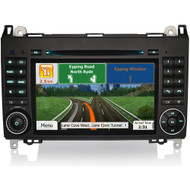 Direct Fit ME7270B After-Market GPS Stereo For VW & Mercedes