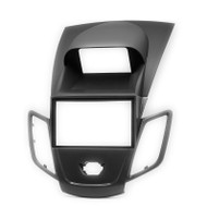 Carav 11-305 2 DIN Fascia Panel For Ford Fiesta Mk7 W/Display BLK