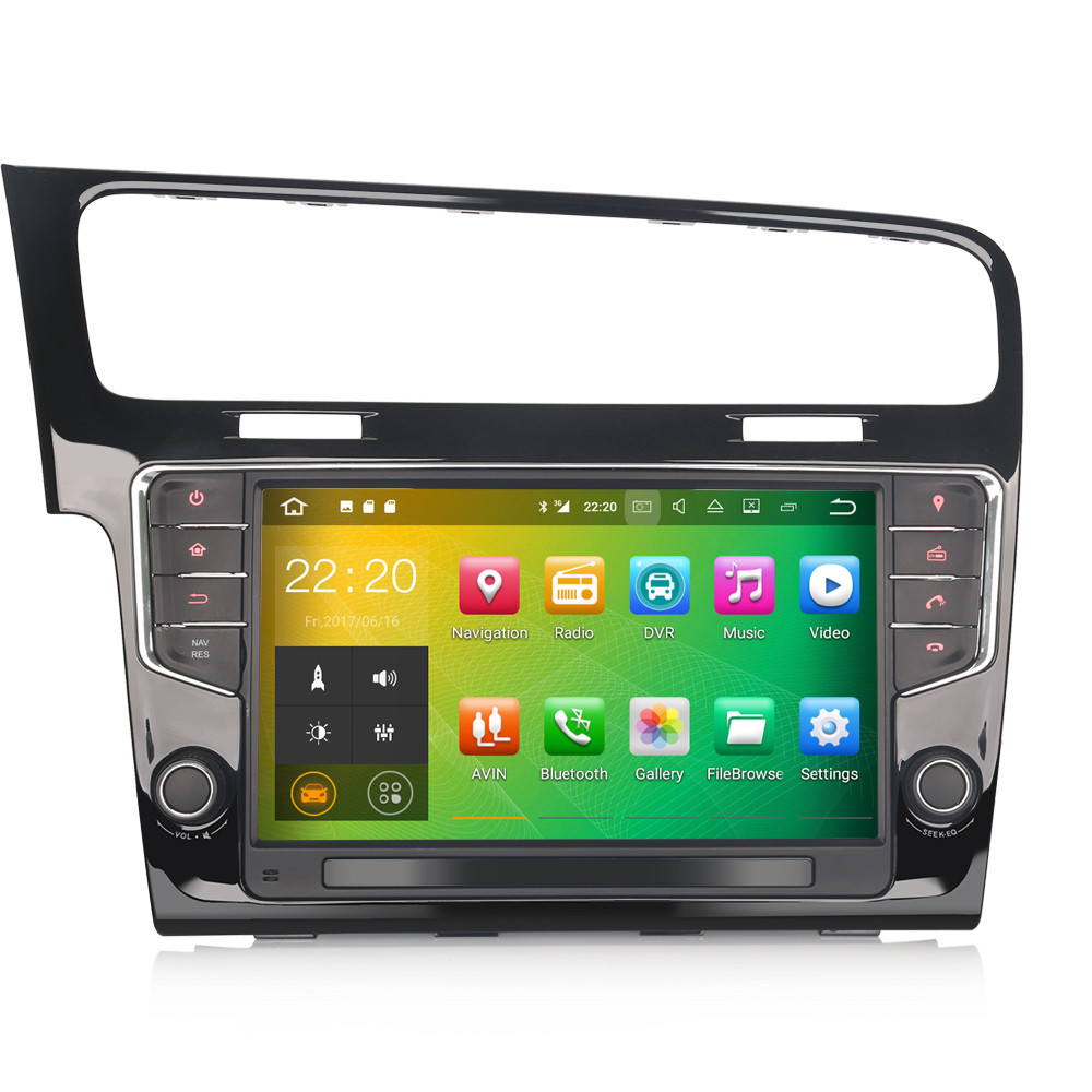 PbA VW4811G Android 9 0 After-Market Radio For VW Golf Mk7