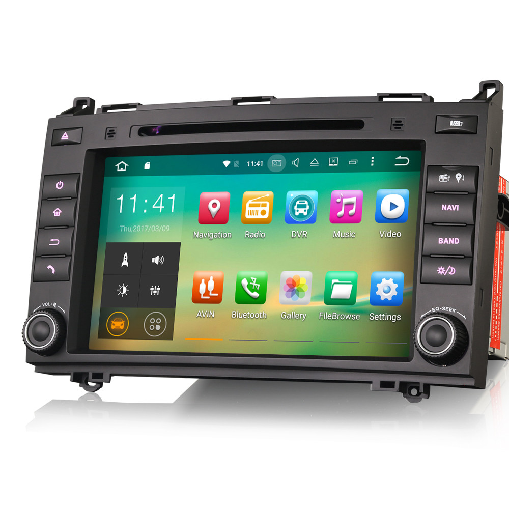 PbA ME7921B Android 9 0 After-Market Radio For Mercedes & VW - Audio