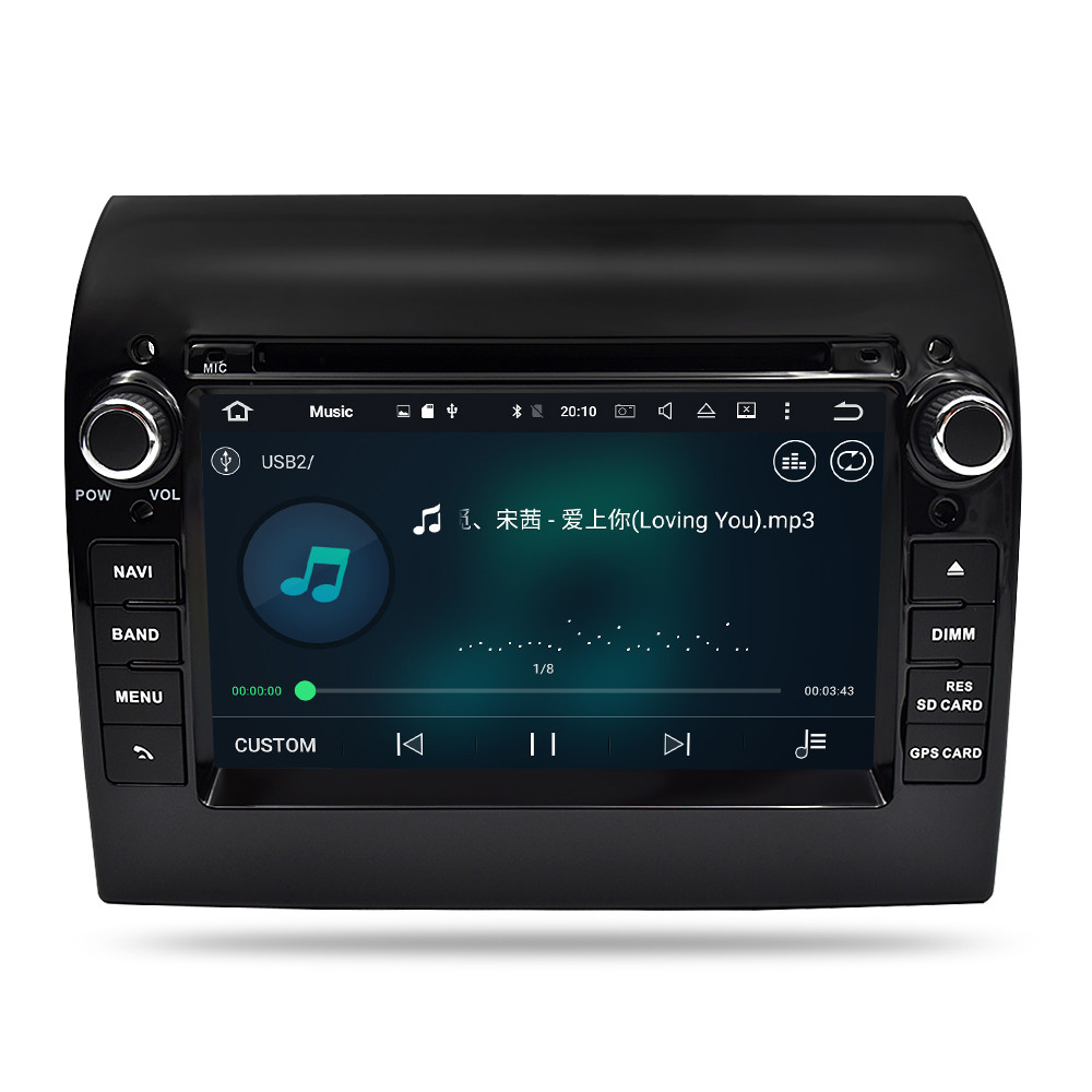 PbA FI8556F Android 8 1 After-Market Radio For Fiat Ducato Mk3