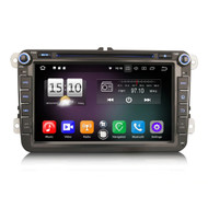 "PbA VW8715V 8"" Android 10.0 After-Market Radio For VW SEAT & Skoda"