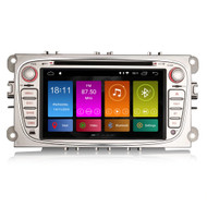 PbA FO2809F Android 8.1 Silver After-Market GPS Radio For Ford