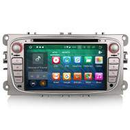 PbA FO3809F Android 8.1 Silver After-Market GPS Radio For Ford