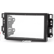Carav 09-003 Double DIN Fascia For Chevrolet Aveo Lova Captiva Epica