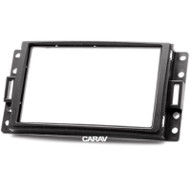 Carav 11-064 Double DIN Fascia For Chevrolet Corvette HUMMER SAAB