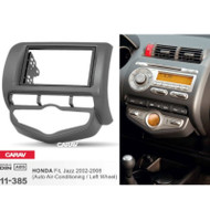 11-385 Double DIN Fascia Panel For HONDA Fit Jazz 2002-2008