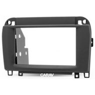 Carav 11-134 Double DIN Fascia Panel For Mercedes CL & S-Klasse