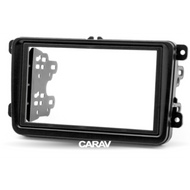 Carav 08-009 Double DIN Fascia Panel For VW SKODA SEAT