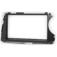 Carav 11-400 Double DIN Fascia Panel For SSANGYONG Actyon Kyron