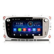 PbA FO4909FS Android 9.0 Black After-Market GPS Radio For Ford