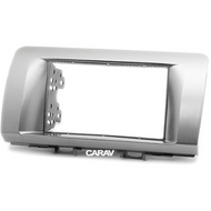 Carav 11-172 Double DIN Fascia Panel For Subaru Toyota Daihatsu