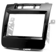 Carav 11-435 Double DIN Fascia Panel For VW Touareg 2010-2014