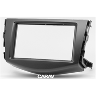 Carav 07-008 Double DIN Fascia Panel For Toyota RAV 4 2006-2012