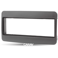 Carav 11-036 Double DIN Fascia Panel For Toyota Universal Black