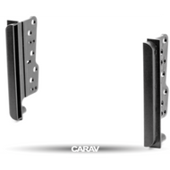 Carav 11-039 Double DIN Fascia Panel For Toyota Universal Brackets