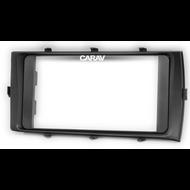 Carav 11-331 Double DIN Fascia For Toyota Aqua 2012-2014 RHD