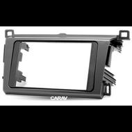 Carav 11-343 Double DIN Fascia For Toyota RAV4 2013+