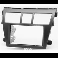 Carav 11-402 Double DIN Fascia For Toyota Vios Belta Yaris Sedan