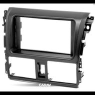 Carav 11-434 Double DIN Fascia For Toyota Vios Yaris