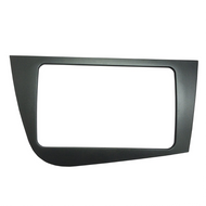 11-5831 Double 2 DIN RNS Facia Panel Black For Seat Leon Mk2