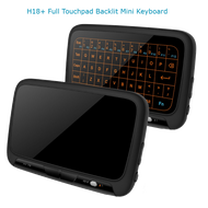2.4GHz Mini Backlight Wireless Keyboard H18+