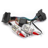 Direct Fit Audi BOSE RCA Adaptor For Audi ES-DJ Series Units