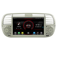 PbA FI500W Android 9.0 After-Market Radio For Fiat 500 (White)