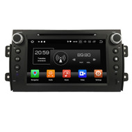 "PbA SU8270S 7"" Android 8.0 Car Radio For Suzuki SX4"